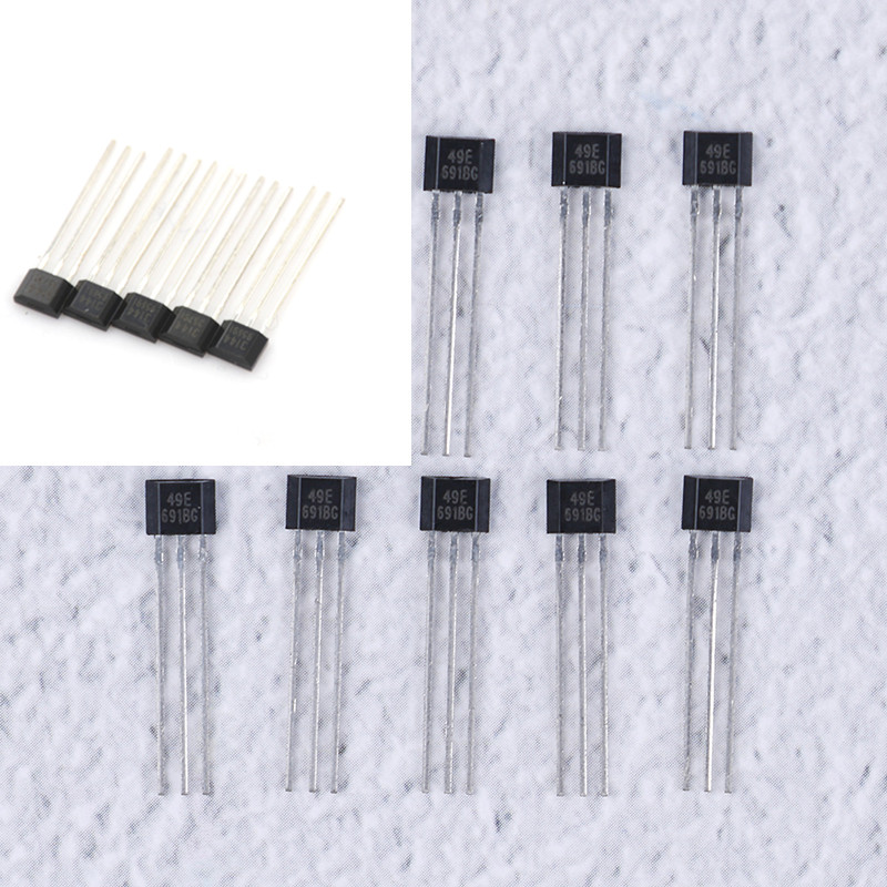 10pcs/5pcs/pack Hall Element 49E OH49E SS49E/A3144 OH3144 Y3144 Linear Sensor Hall Sensor Wholesale