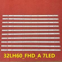 New 10 PCS/lot LED blacklight strip for LG innotek Direct 16Y FHD 32LH604V 32LH530V 32LH60_FHD_A S L SSC_32inch_FHD EAV63452304
