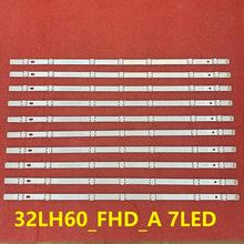 Nuevo 10 unids/lote LED de luz negra tira para LG innotek directa 16Y FHD 32LH604V 32LH530V 32LH60_FHD_A S L SSC_32inch_FHD EAV63452304