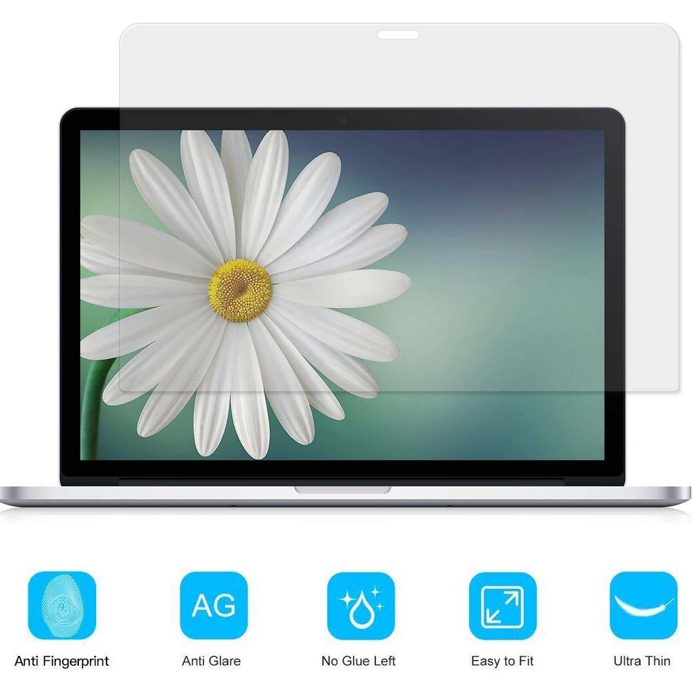 KK&LL For Apple Macbook Pro 13 inch with Retina display (<font><b>A1425</b></font> A1502) Crystal Clear Lcd Guard Film <font><b>Screen</b></font> film Protector image
