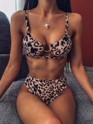 B36 leopard print