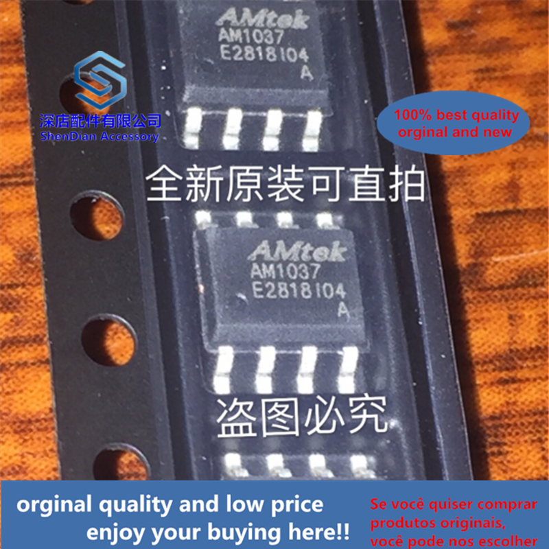 10pcs 100% Orginal And New AM1037A AM1037 SOP8  Best Qualtiy