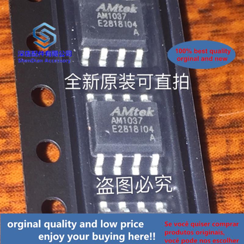 10pcs 100% Orginal And New AM1037A AM1037 SOP8  Best Qualtiy