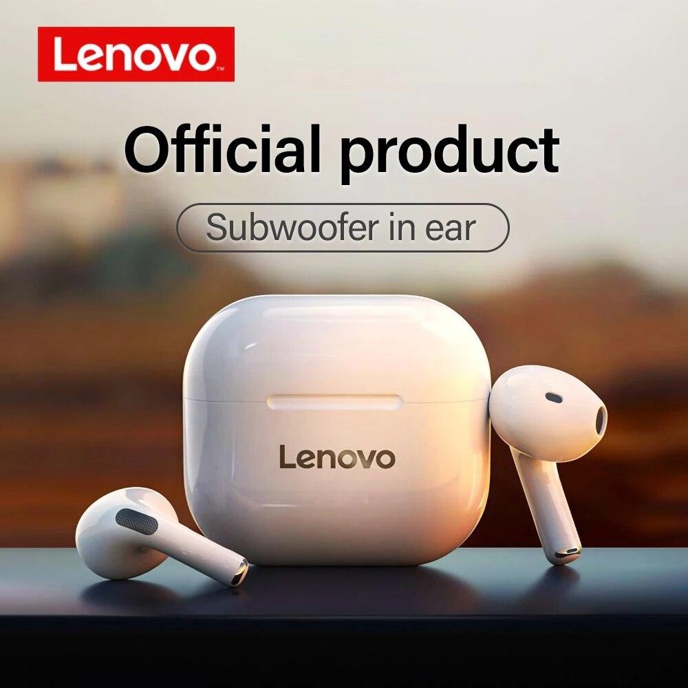 Беспроводные водонепроницаемые наушники Lenovo LP40 HiFi Sound Bluetooth 5,0 с сенсорным управлением по лучшей цене