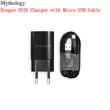 עבור מקורי Doogee N20 פרו מיקרו USB כבל X95 N20 S40 פרו S55 S55 לייט 5V2A 10W האיחוד האירופי Plug נסיעות מטען מחבר טלפון נייד