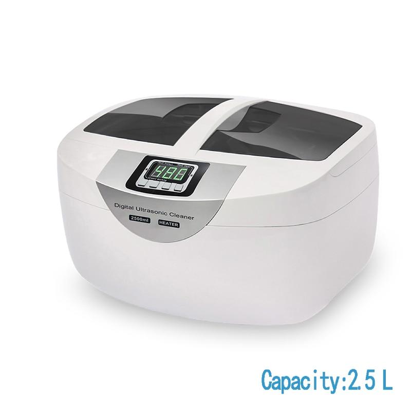 SOONICK 2.5L nettoyeur Ultra sonique ménage minuterie numérique Ultra sonique bijoux nettoyage prothèse lunettes ultra sonique laveuse machine