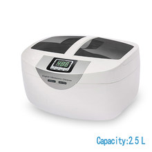 Soonick temporizador doméstico ultra sônico 2.5l, máquina ultra sônica para limpeza de joias, máquina de lavar louça ultra sônica