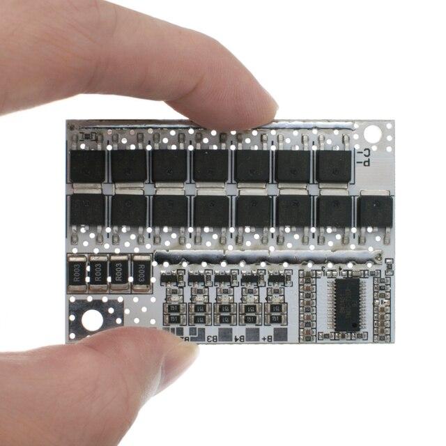 18V 21V 100A 5S BMS ليثيوم أيون كحم LiFePO4 بطارية الليثيوم الثلاثي حماية لوحة دوائر كهربائية ليثيوم بوليمر شحن الرصيد لوحة تركيبية