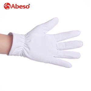 Image 5 - Abeso 10 Pair Plus Cashmere thick elastic Large white gloves White color Etiquette gloves driving gloves A1008