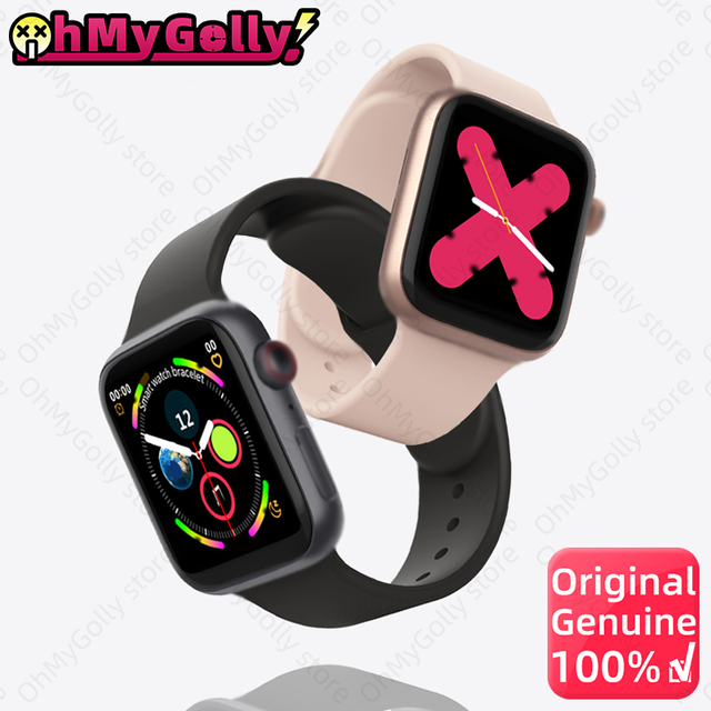 IWO LD5 SmartWatch Men Women With Heart Rate Monitor Blood Pressure IWO13 Smart Watch For Android IOS pk amazfit w26 T600 X6 X7 1