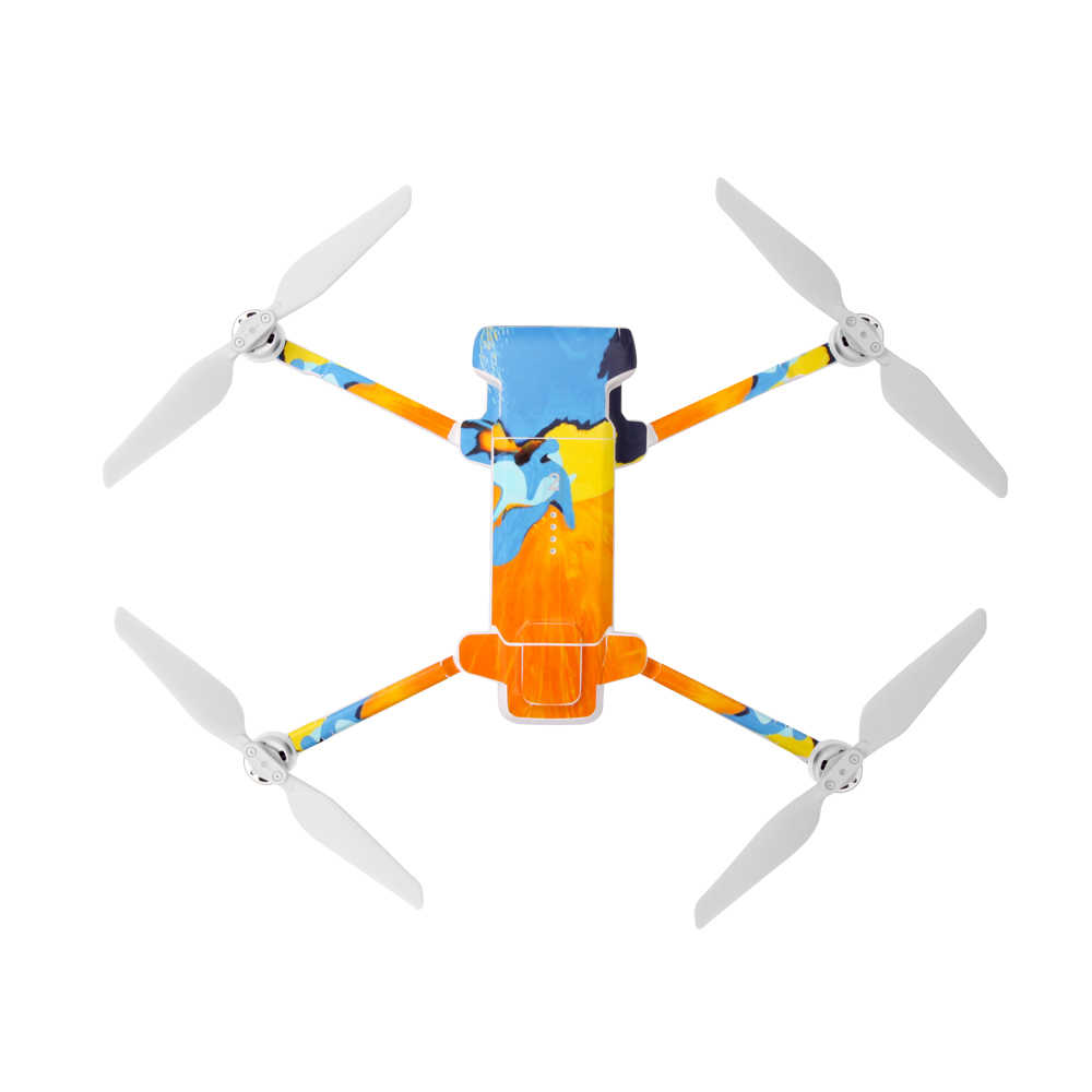Drone Profissional PVCสติกเกอร์ผิวDecalsสติ๊กเกอร์กันน้ำสำหรับXiaomi FIMI X8 SE Droneอุปกรณ์เสริม