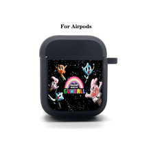 Game Anime Cartoon Airpods Case Protective Cover Bluetooth Airpods 1 2 Headphone case Earphone Soft Silicone Case