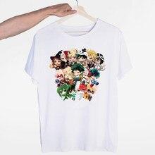 Camisa do anime da academia do herói das mulheres t camisa minha academia do herói camiseta casual tshirt para as camisetas femininas streetwear