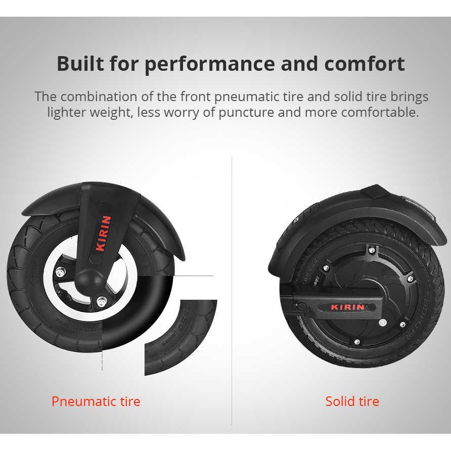 [Tienda oficial] KUGOO KIRIN S2 Scooter plegable eléctrico LCD pantalla 250W 25 KM/H e Scooter PK Megawheels para Xiaomi M365