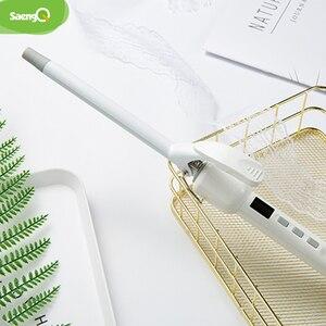 Image 5 - saengQ Hair Curler Not Hurt Hair Mini Perm Stick Electric Hair Stick Buckle Hair Curler Air Bangs Electric Coil 9/13/16MM