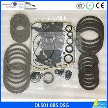 DL501 0B5เกียร์ชุดเตรียมชุดสำหรับAudi A4 A5 A6 A7 Q5 7 Speed
