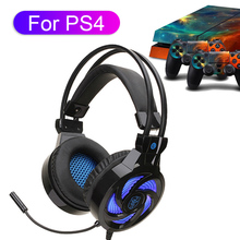Computer Gaming Headset For PS4 XBOX Gamer Wired Headphone With Microphone PC Cascos Music Helmet For PCPhone Laptop Girl logitech g433 wired headphone x 7 1 surround gaming headset for pc ps4 xbox computer peripheral accessories