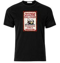 2019 New Cotton Tee Shirt Dodge Challenger Scat Pack - Graphic Cotton T Shirt Short & Long Sleeve Fashion T-shirt
