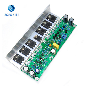L15 Mono AMP with Angled Aluminum IRFP240 IRFP9240 FET Amplifier Audio Finished Board MOSFET Sound Amplifiers Assembled Board assembled 1200w powerful amplifier board mono hifi audio amp board with heatsink