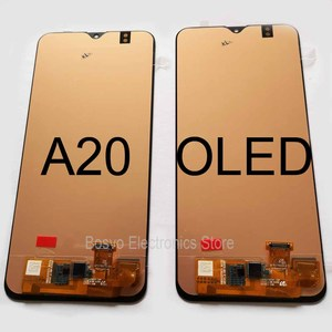 Image 4 - for Samsung A20 LCD screen display with touch with frame assembly Replacement repair parts A205 A205F SM A205F A205FN