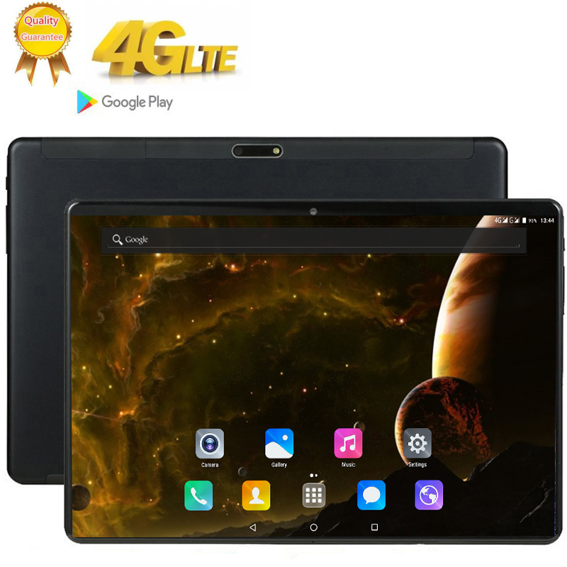 2020 Tablet Android 9.0 10 Core 128GB ROM 8GB Rom 3G 4G LTE 1920 1200 IPS 13MP SIM Card Ips Tablet 2.5D Tempered Glass 10.1 Inch