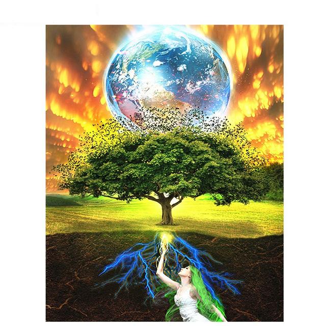 Fantasy Earth Tree