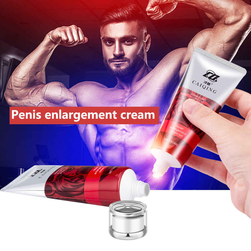 Natural masculino realce creme pênis ampliação creme mais grosso estender pênis massagem crema duradouro homem forte