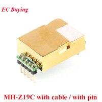 MH-Z19 MH-Z19C IR Infrarot CO2 Sensor Modul Kohlendioxid Gas Sensor NDIR für CO2 Monitor 400-5000ppm UART PWM Ausgang MH z19C