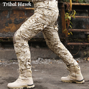Image 3 - Military Cargo Pants Men Tactical Army SWAT Camo Pants Combat Paintball Camouflage Pants Uniforms Work Trousers Knee Pads