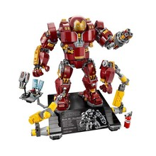 Marvel Super Heroes Iron Man Hulkbuster 76105 Ironman Model Building Blocks Boys Birthday Gifts Children Toys B765