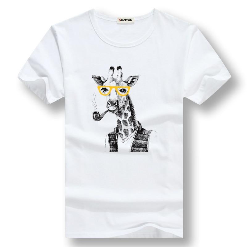 Animal Printed T Shirt Men/Women Casual Funny Tees Streetwear Sweatshirts Hip Hop Harajuku Male Tops Cute Pet Dog for Adult Men