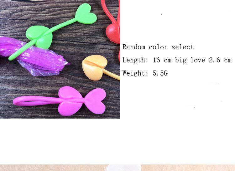Купить с кэшбэком 4PCS long strip love-shaped sealed bag clip reusable green silicone food bag binding with