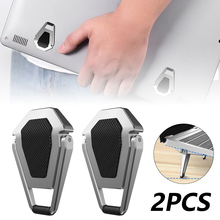 Mini Portable Invisible Laptop Holder Adjustable Cooling Stand Foldable Multifunctional