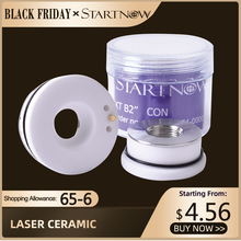 Startnow Laser Ceramic Ring Parts For Fiber Cutting Machine Laser Welding Head Nozzle Holder 28mm 32 OEM HSG WXS Bodor HANS DNE