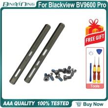 100% Neue Original Links und Rechts Dekorative stücke Für Blackview BV9600 Pro Seite metall Reparatur Ersatz Zubehör Teile