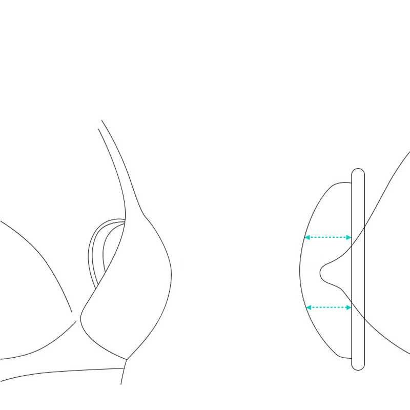 ضمادات التمريض ممرضة مكافحة تجاوز منصات الثدي قابلة لإعادة الاستخدام حليب الثدي جامع إعادة استخدامها الحلمة جمع منصات قابلة لإعادة الاستخدام