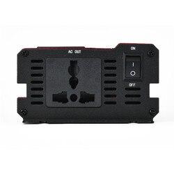 Pojazdy samochodowe potężne falownik ładowarka z wyświetlaczem LED 12V do 220V falownik pojazdu z wyświetlaczem LED na