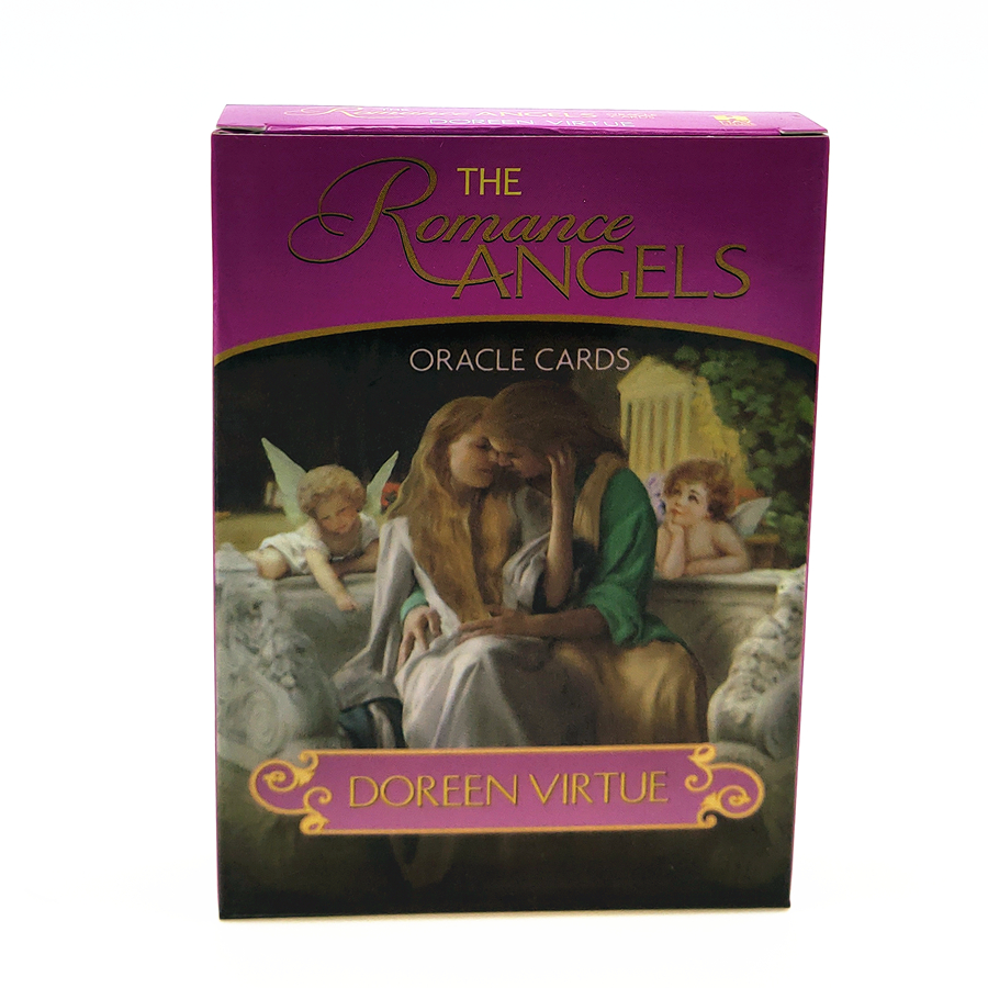 2019 Full English  Romance Angels  Oracle Cards Deck Mysterious Tarot Cards Guidance -divination Fate Fortune Card Game
