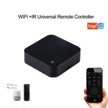 Интеллектуальный универсальный пульт дистанционного управления, 2,4 ГГц, Wi Fi, ИК пульт дистанционного управления, работает с Alexa,Google home для домашней автоматизации
