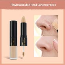 MYG Flawless Double Head Concealer CC Stick Waterproof Moisturizing Dark Eye Circles Acne liquid Pen No Card Pattern Face Makeup