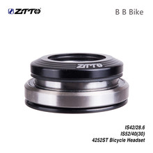 Ztto MTB Bicycle Headset 42 41.8 52mm 1 1/8 1 1/2 Tapered Straight fork Integrated Angular Contact Bearing headset bike tito titanium alloy headset mtb bicycle parts cycling 1 1 8 straight head tube convert 1 5 taper fork 1 1 8 and 1 1 2 headset