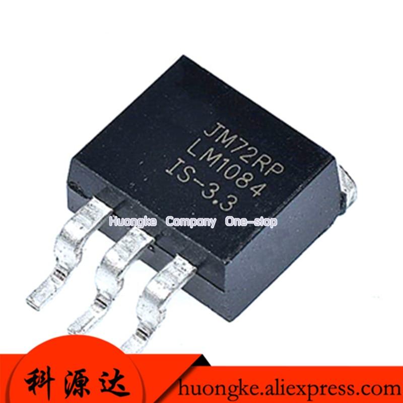 10pcs/lot LM1084 TO-263 LM1084IS-ADJ LM1084IS-3.3 -5 3.3V/5V  1.8V In Stock LDO Regulator Pos 1.25V To 27.5V 5A