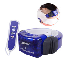 Electric Pulse Neck Massager Cervical Traction Therapy Heating Massage Stimulator Cervical Pain Relief Tool Body Relaxation Tool hanriver the new nursing waist yoga therapy tool strength support towing cervical traction apparatus