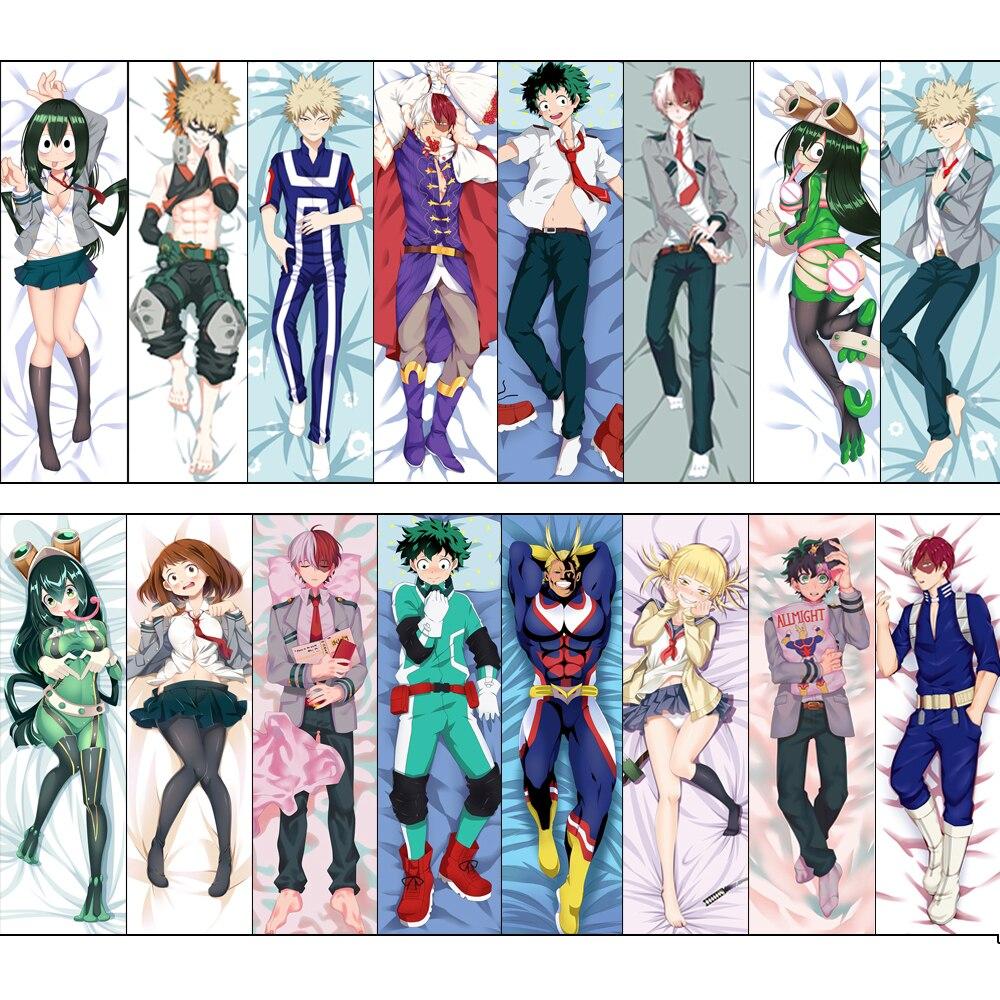 59/'/'Anime My Hero Academia Todoroki Shoto Dakimakura Hug Body Pillow Case Gift