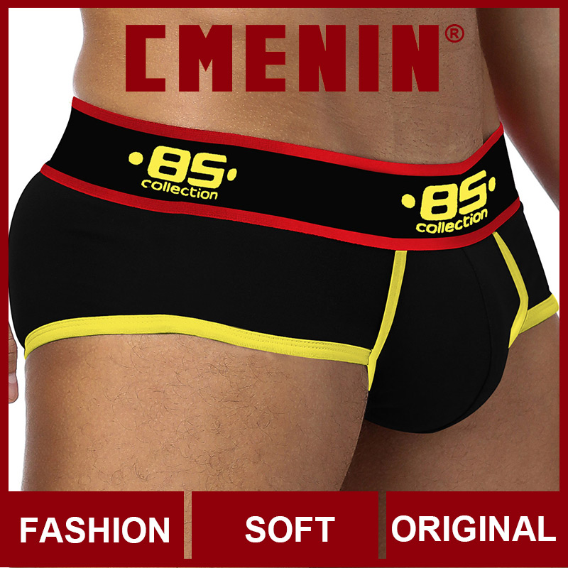 2020 New Cotton Comfortable Mens Briefs Underwear Shorts Male Underwear Sexy Gay Men Underwear Bikini Men Briefs Under Wear Man