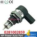 0281002859 Топливная рампа Давление рельеф ограничитель клапан 2 0 3 0 TDI для VW Audi A3 A4 A5 A6 Q5 2 0 3 0 TDI 0 281 002 859