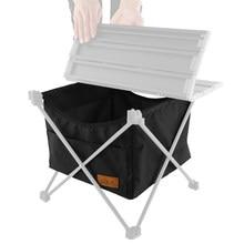 Acampamento ao ar livre portátil dobrável saco de armazenamento oxford saco líquido de piquenique grande capacidade bolso suprimentos de acampamento