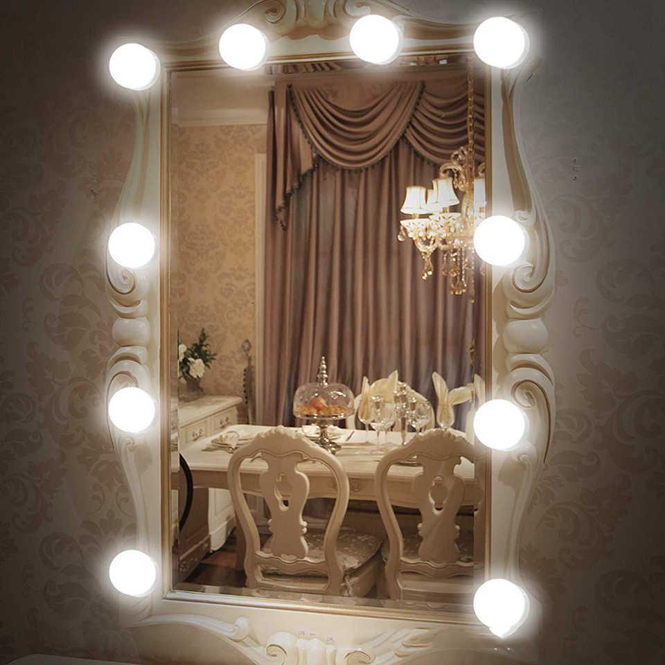USB туалетный светильник s светодиодный зеркальный для ванной комнаты макияжа