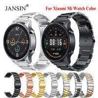 Per Xiaomi MI Watch cinturino colorato cinturino da polso in acciaio inossidabile cinturino per Xiaomi Mi Watch cinturino in metallo Correa a colori