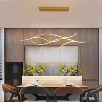 Creative Modern LED Chandelier For Living room Kitchen Dining room Bar Hanging Lamp LED Chandelier Home Lustres 90 260V